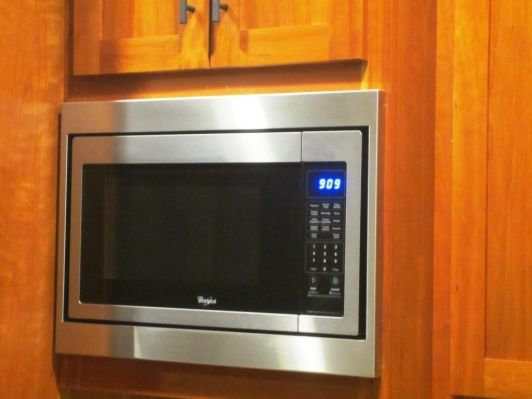 trim kit for a whirpool microwave