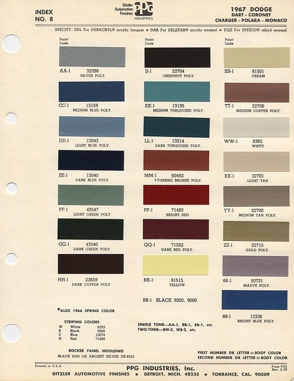 Colour Chart For The Paint Paint In 2018 Pinterest Paint Code