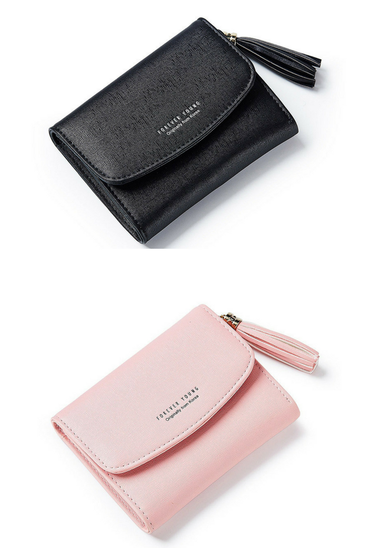 c57732dcbda88 2018 Tassel Women s Wallet Card Holder Coin Purse Soft Slim Small Wallets  for Lady Just for  8.5.  wallet  fashion  womensfashion  womens   leathergoods ...