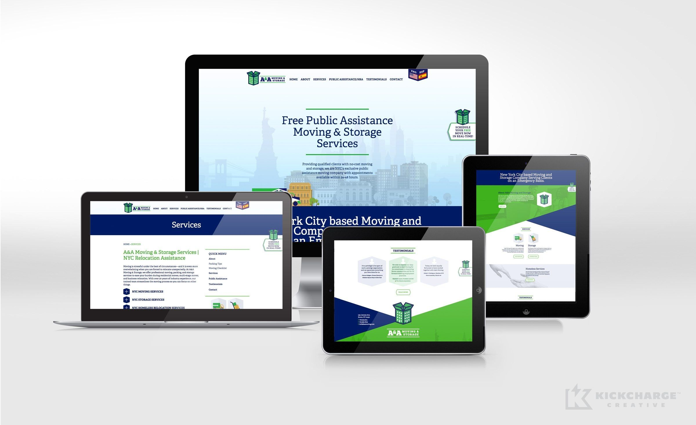 Responsive Website Design And Development For A A Moving Storage
