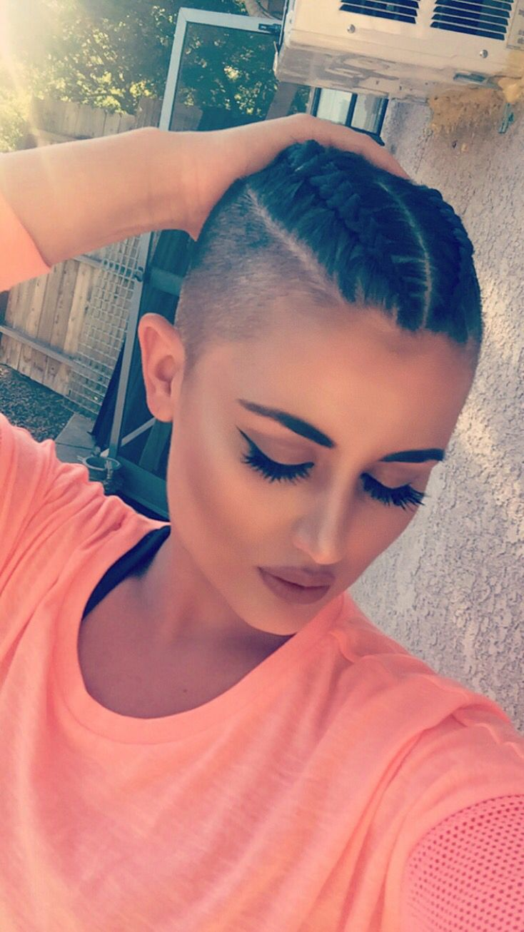 Braided pixie hairstyles pinterest pixies hair style and
