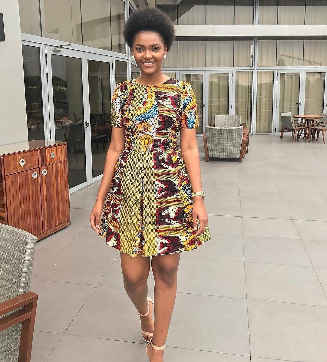 b96888a0176 Casual Ankara Look  dorcas dienda  ankarastyles  style  stylish  fashion   instafashion  instastyle