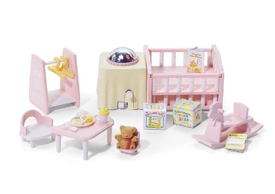 Babyzimmer Nightlight ~ Calico critters nightlight nursery set cc calico critters