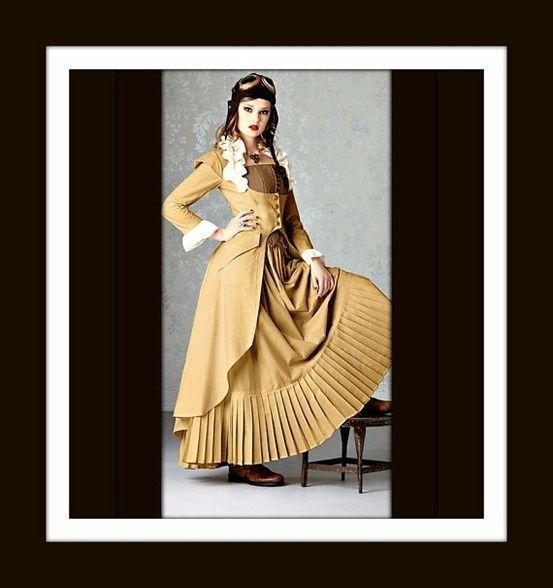 victorian steampunk outfit