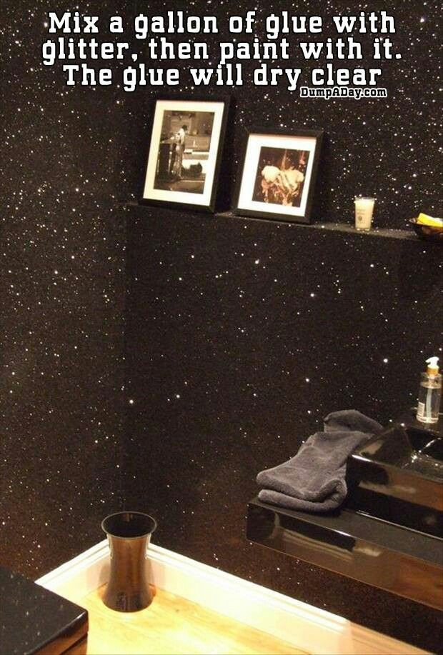 mickey mouse bathroom decorating ideas home and garden ideas.htm 23 glorious sparkle wall ideas  with images  glitter wall  home diy  23 glorious sparkle wall ideas  with