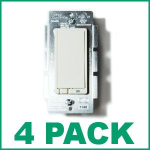 (4) JASCO 45609 Z-Wave On/Off Switch - 4 Pack
