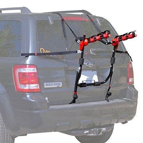 Bike Trunk Mount Carrier Rack Compact Portable Sports Bicycle Suv