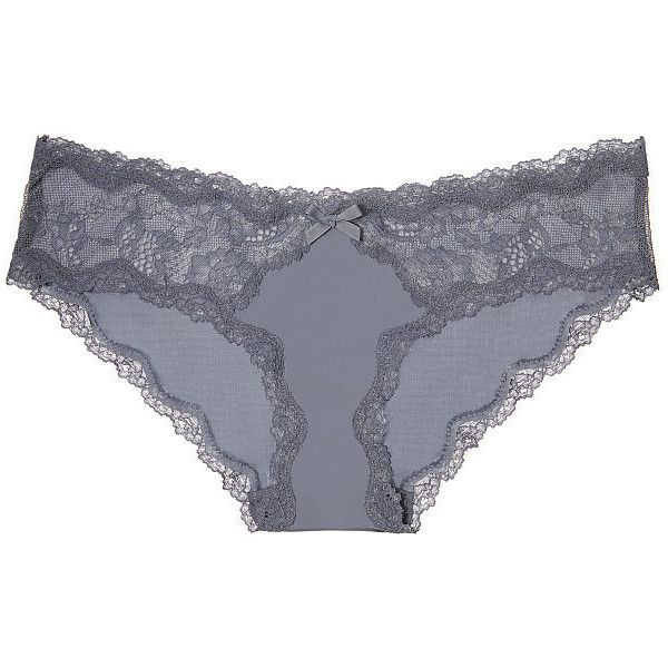 d6cbf19713 Dream Angels Victoria s Secret Lace-Trim Hipkini Panty (17 CAD) ❤ liked on  Polyvore featuring intimates