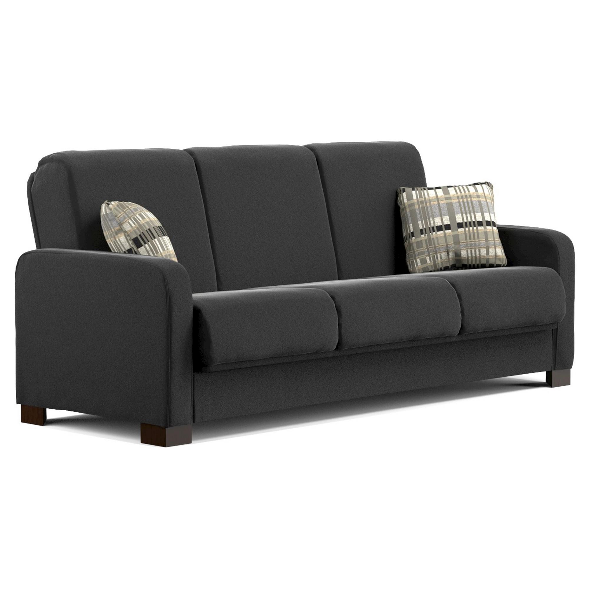 Thora Convert A Couch Black Handy Living Futon Sofa Handy