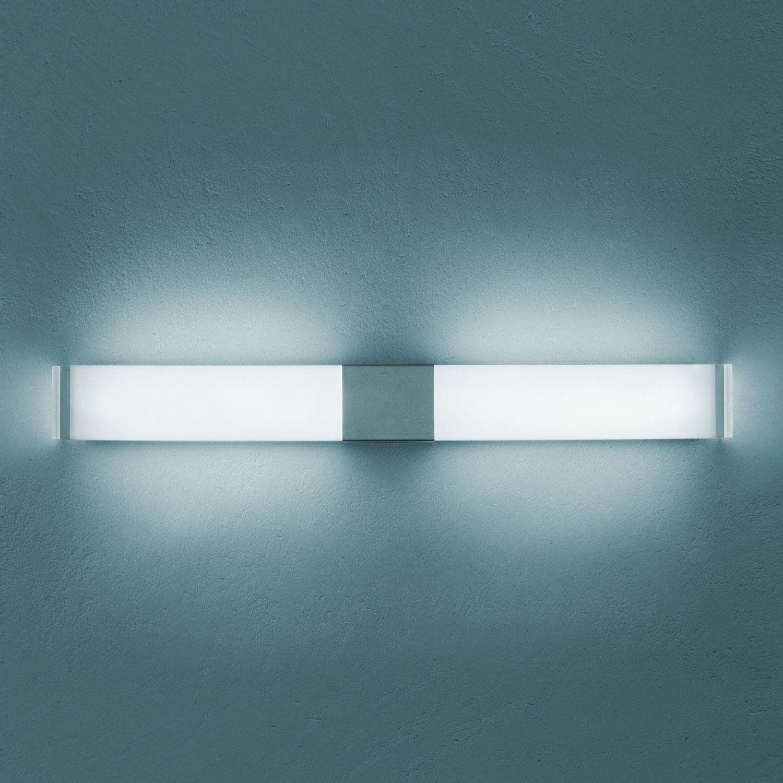 Transparent Aluminium Iceberg Lighting Wall Lamp Aluminium Painted Structure