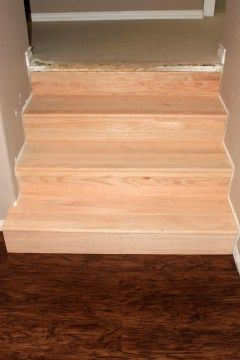 Best Converting Carpeted Stairs To Hardwood Hardwood Stairs 400 x 300