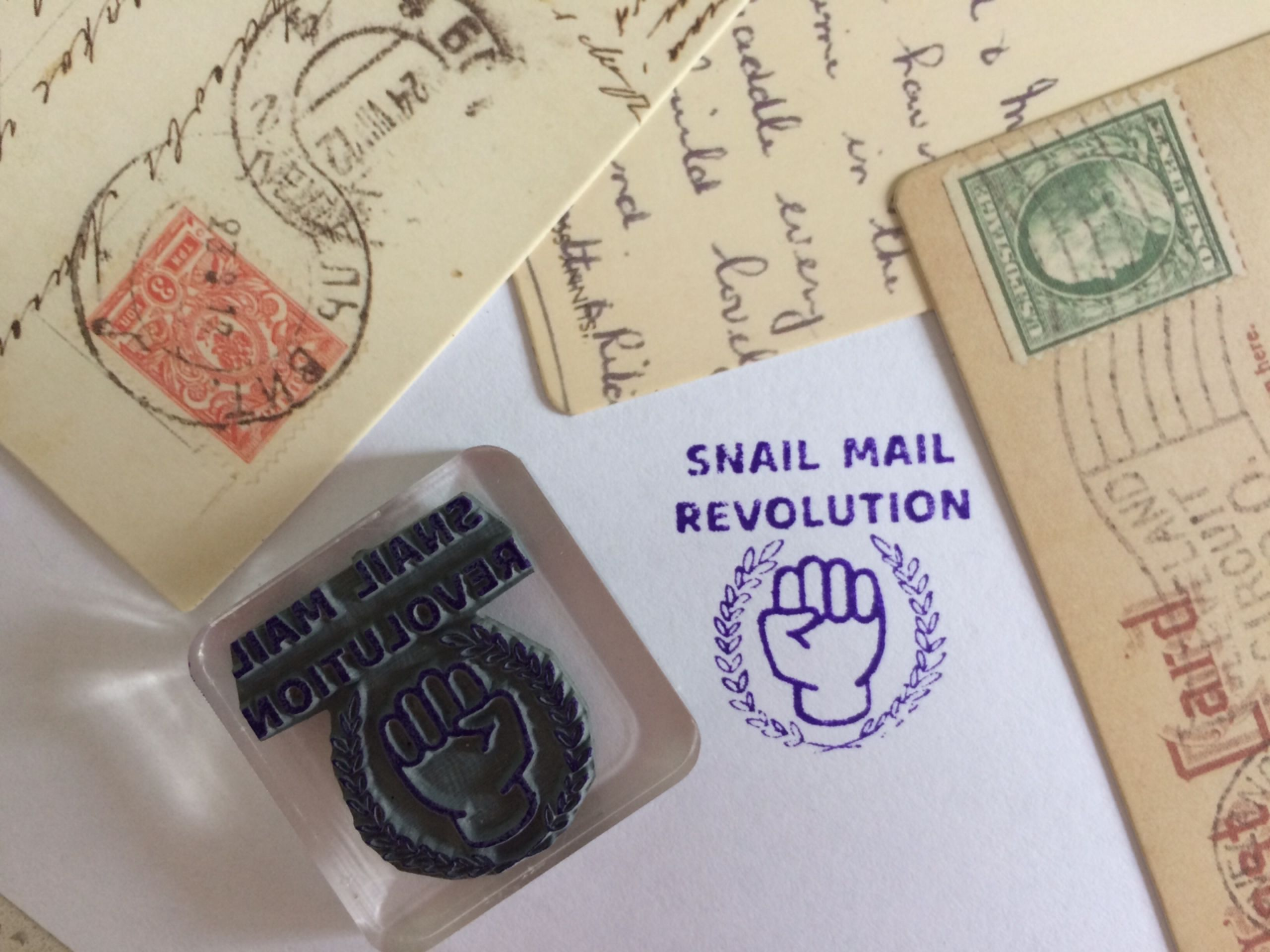 new cute rubber stamp