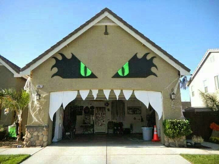 act normal monster house halloween decorating ideas - Decorate House For Halloween