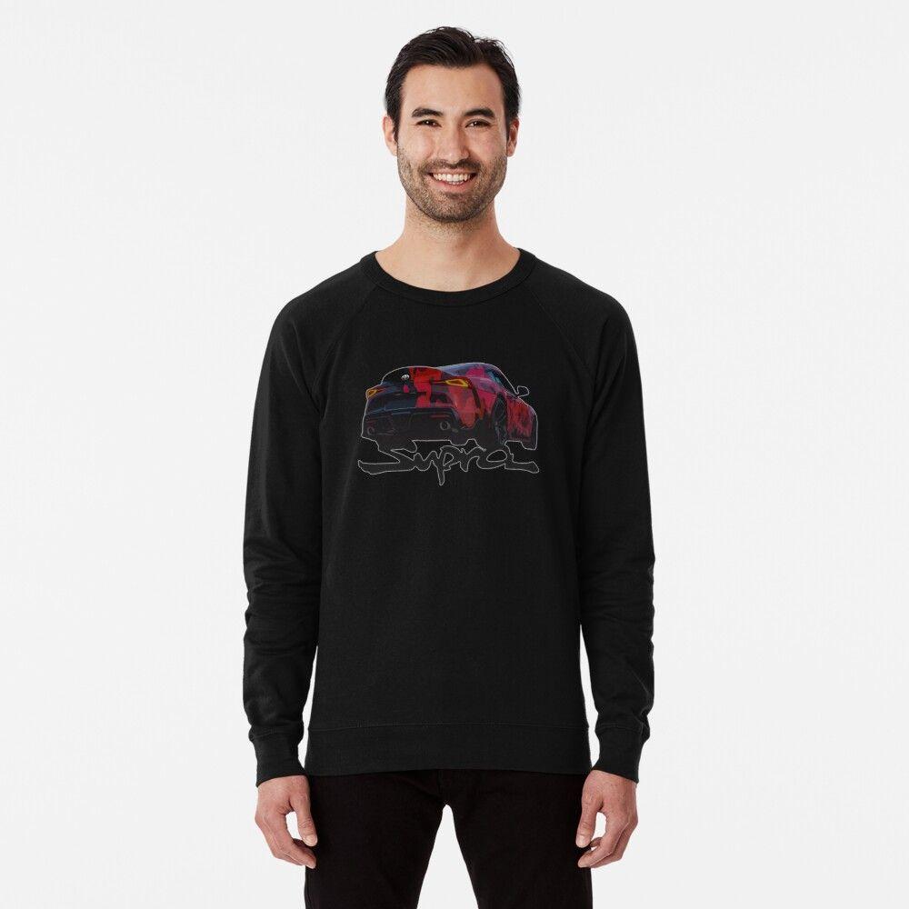 2020 Toyota Supra Camo Wrap Lightweight Sweatshirt By Bakslash Sweatshirts Lightweight Sweatshirts Sweatshirt Designs [ 1000 x 1000 Pixel ]