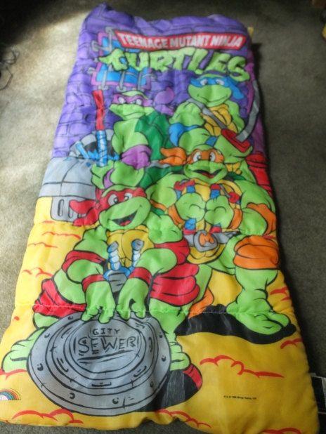 Tmnt Age Mutant Ninja Turtles Sleeping By Moonbearconnections Bag