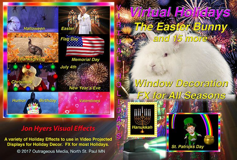 all seasons holiday projection effects dvd