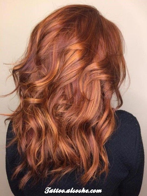 Best Auburn Hair Color Ideas That are Hot This Fall