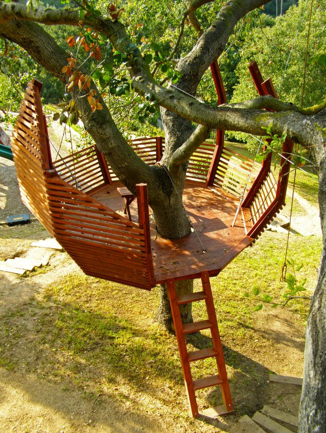 Tips for Building Your Own Backyard Treehouse   Treehouse     Tips for Building Your Own Backyard Treehouse   Treehouse  Backyards and Building