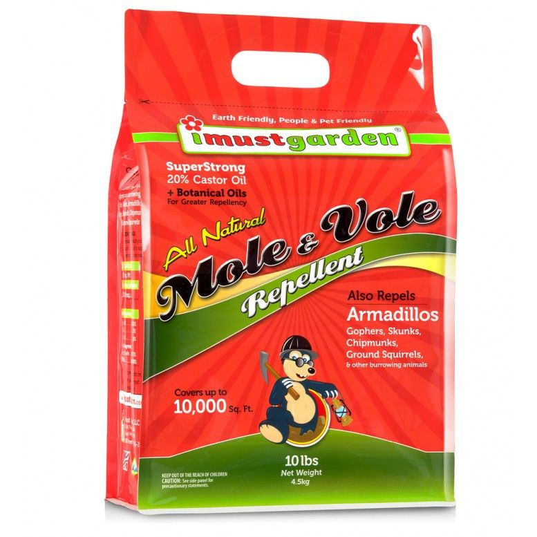 Super Simple Ideas For People Who Hate Yard Work: Mole/Vole/Armadillo Repellent - Granular - 10 LBS