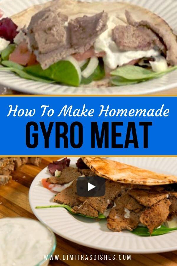 Homemade Gyro Meat