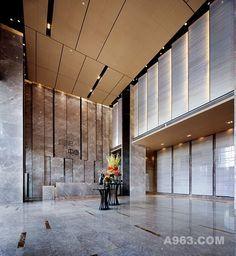 Kunming sales gallery lobby interior office design living room also building designs officedesigns in rh pinterest