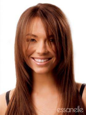Stufig Frisur Glatte Lange Haare Lange Haare Haare