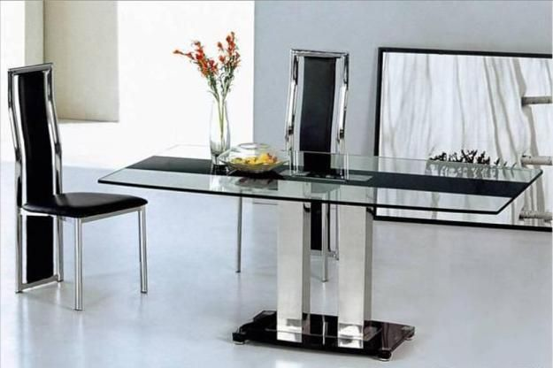 Glass Top Tables Magnifying Beautiful Dining Room Design Beautiful Dining Rooms Modern Dining Room Dining Table Design