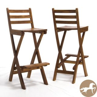Our Best Patio Furniture Deals Wood Bar Stools Outdoor Wood Bar Folding Bar Stools Folding bar stool with back