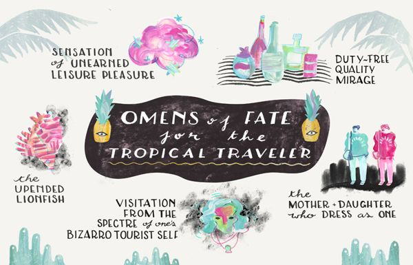 Omens of Fate for the Tropical Traveler on Behance