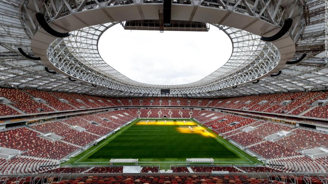 Take A Tour Of The 2018 Russia World Cup Stadiums World Cup Stadiums Russia World Cup European Cup