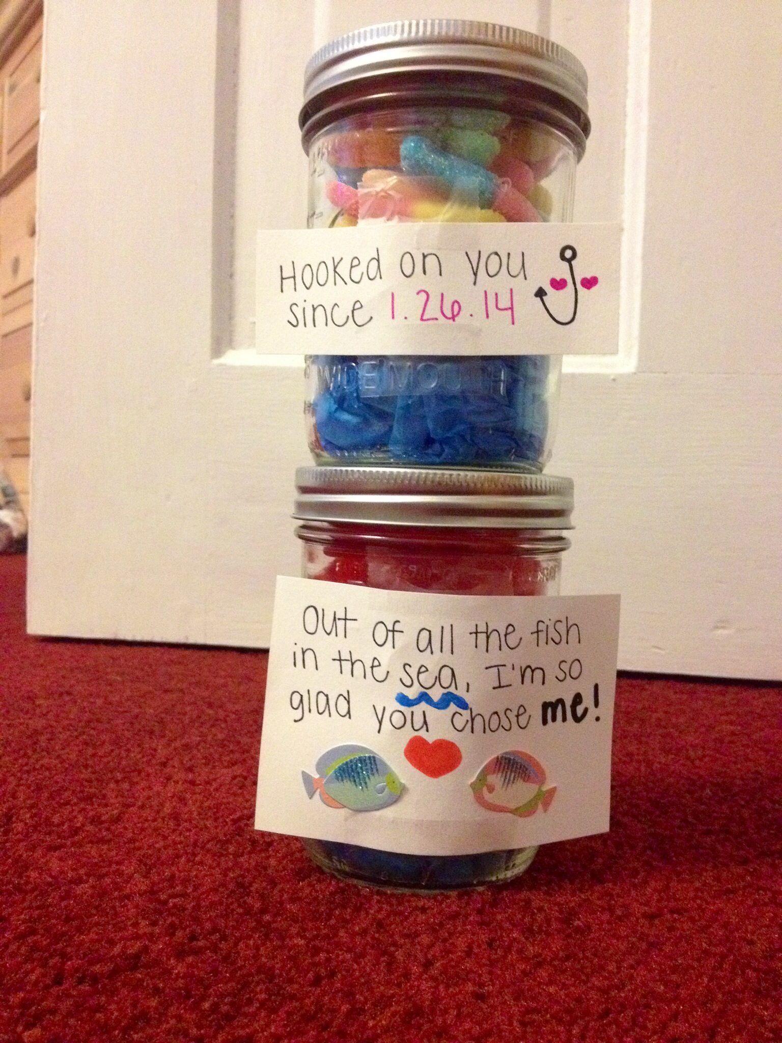 New Valentine S Day Mason Jar Ideas Boyfriend Anniversary Gifts Anniversary Boyfriend 6 Month Anniversary Boyfriend