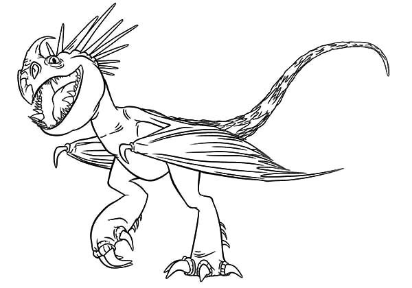 Astrid Dragon Pet Nadder In How To Train Your Dragon Coloring Dragon Coloring Page Dragon Sketch How Train Your Dragon