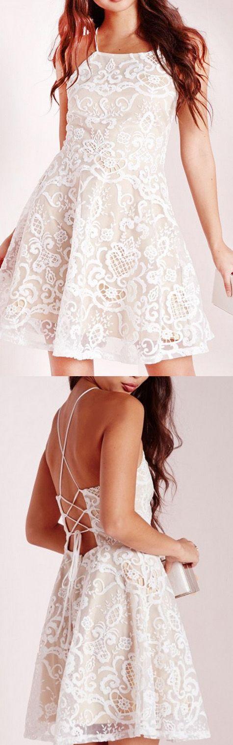 ivory formal short dresses