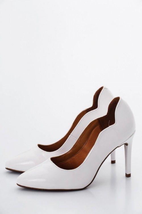 eaae5f1fec Fehér Vizzano Női Magassarkú cipő Kép   divat   Pinterest