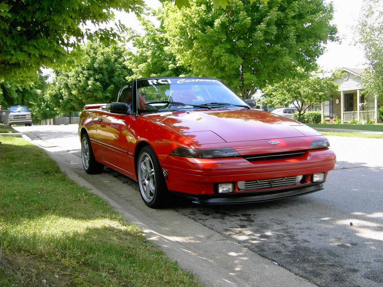 5 1992 mercury capri xr2 i wish it would ve looked this good it was easily the least masculine car i ve ever owned but it was a decently quick