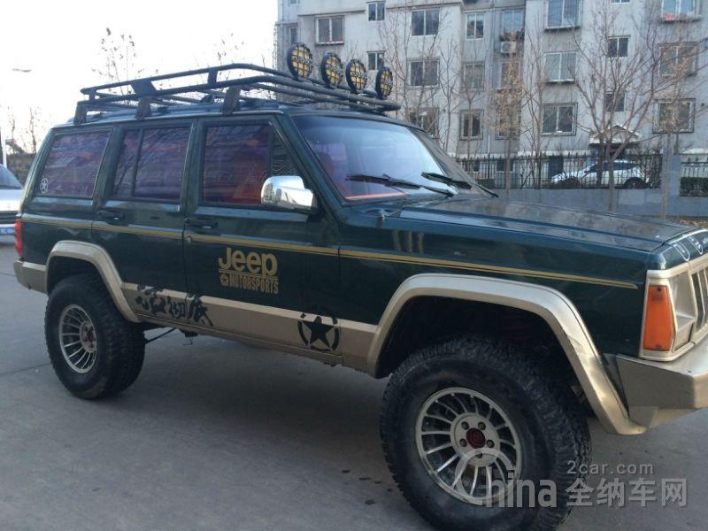 1999年 北京吉普213 4.0手动 Jeep cherokee xj, Jeep cherokee