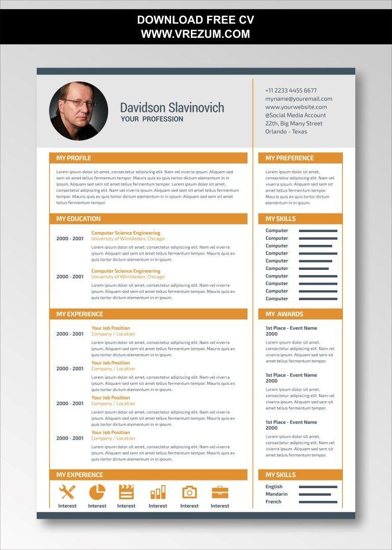Editable Free Cv Templates For Construction Cashier Cv Template Free Cv Template Resume Template Free
