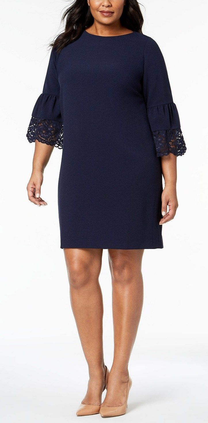 plus size spring wedding guest dresses with sleeves in