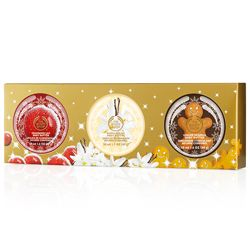 Festive Body Butter Trio Gift Set