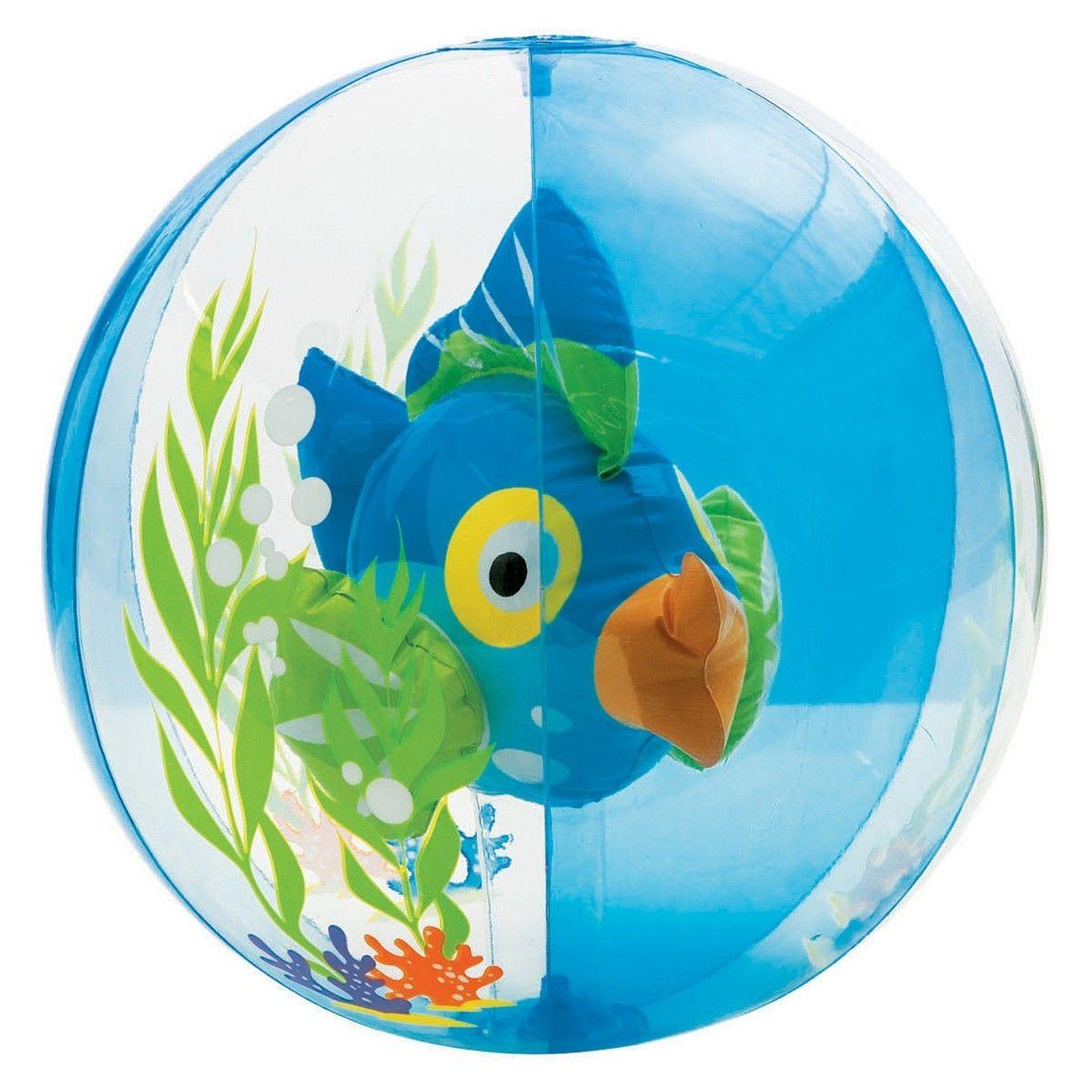Aquarium beach ball