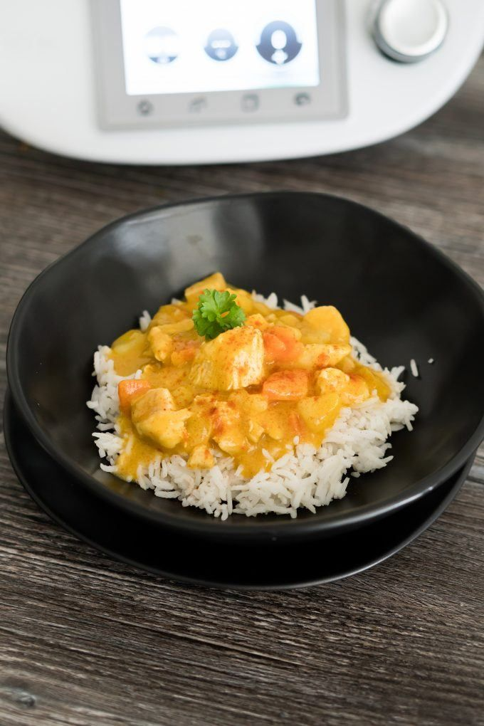 Photo of Vegetable curry with chicken from Thermomix® – will-mixen.de
