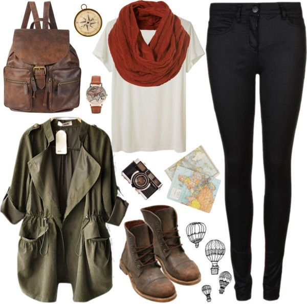 """Let's travel"" by hanaglatison ❤ liked on Polyvore"