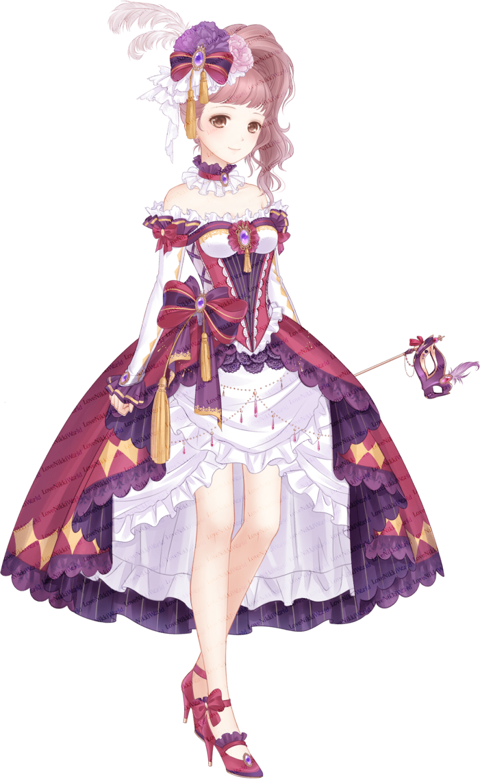 Mask Feast • Love Nikki Database | Nikki, Love, Anime