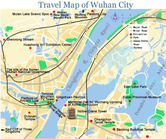Wuhan map My trip to China Pinterest Wuhan and Asia
