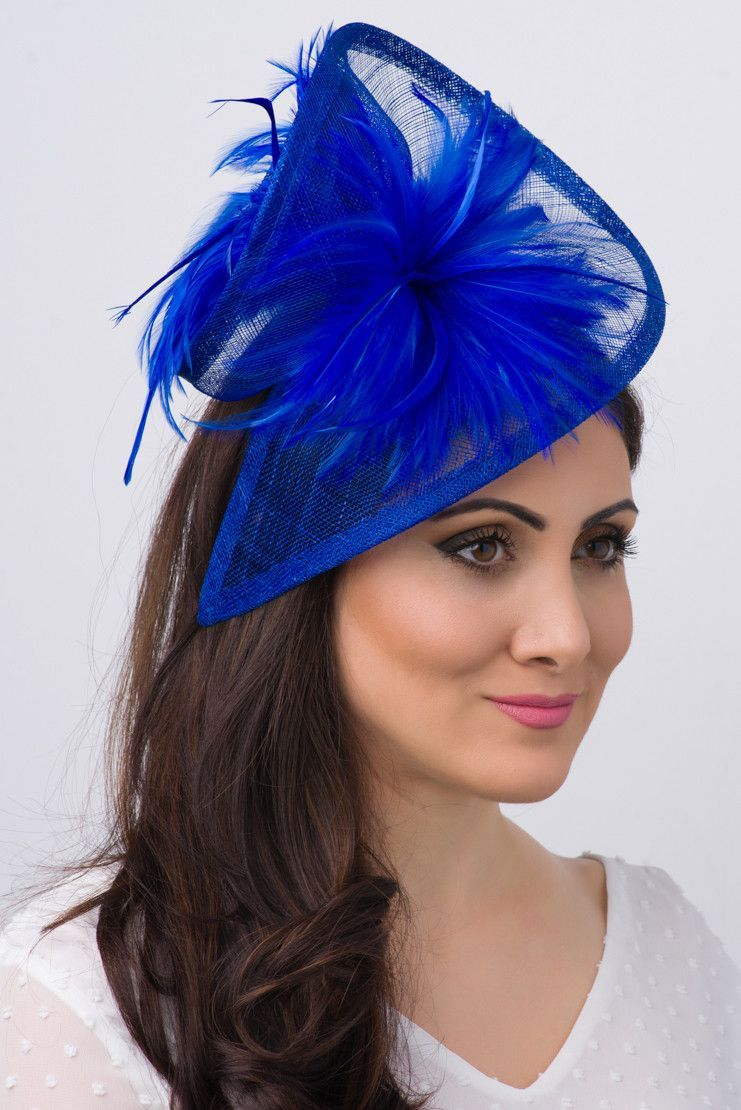 Victoria Fascinator - Royal Blue
