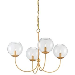 curry co lighting. Rothwell Chandelier, Gold - Curry And Co Lighting O