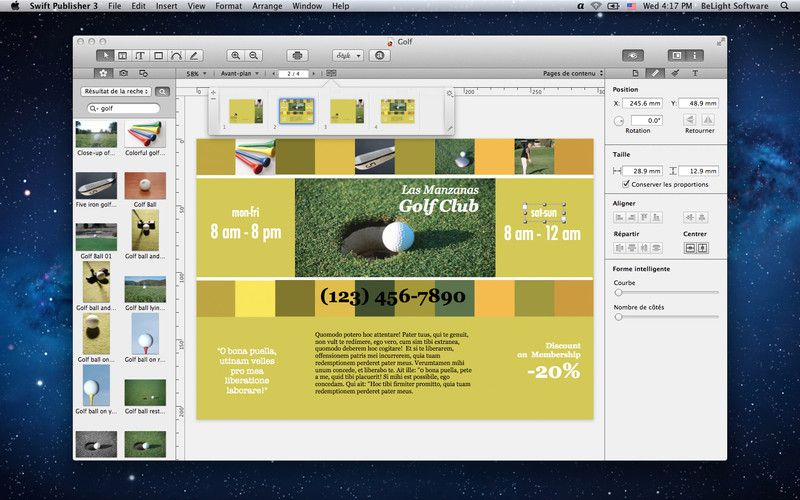 Easy Layout And Design For Simple Things Like Posters And Ads Mac App Store App Store