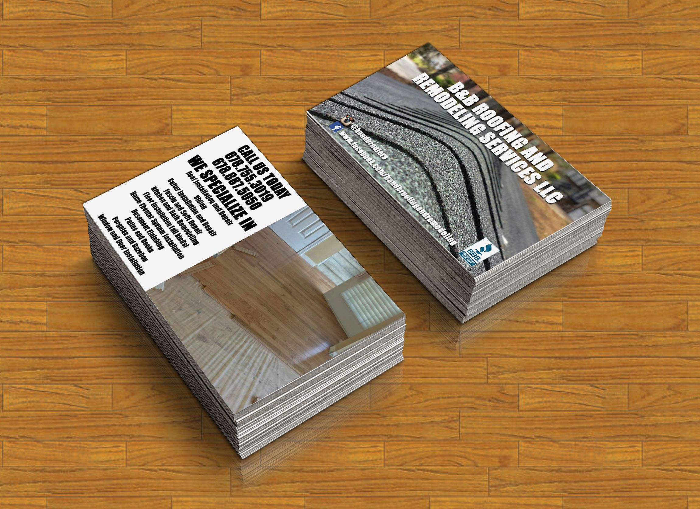 business card design professional double sided business card