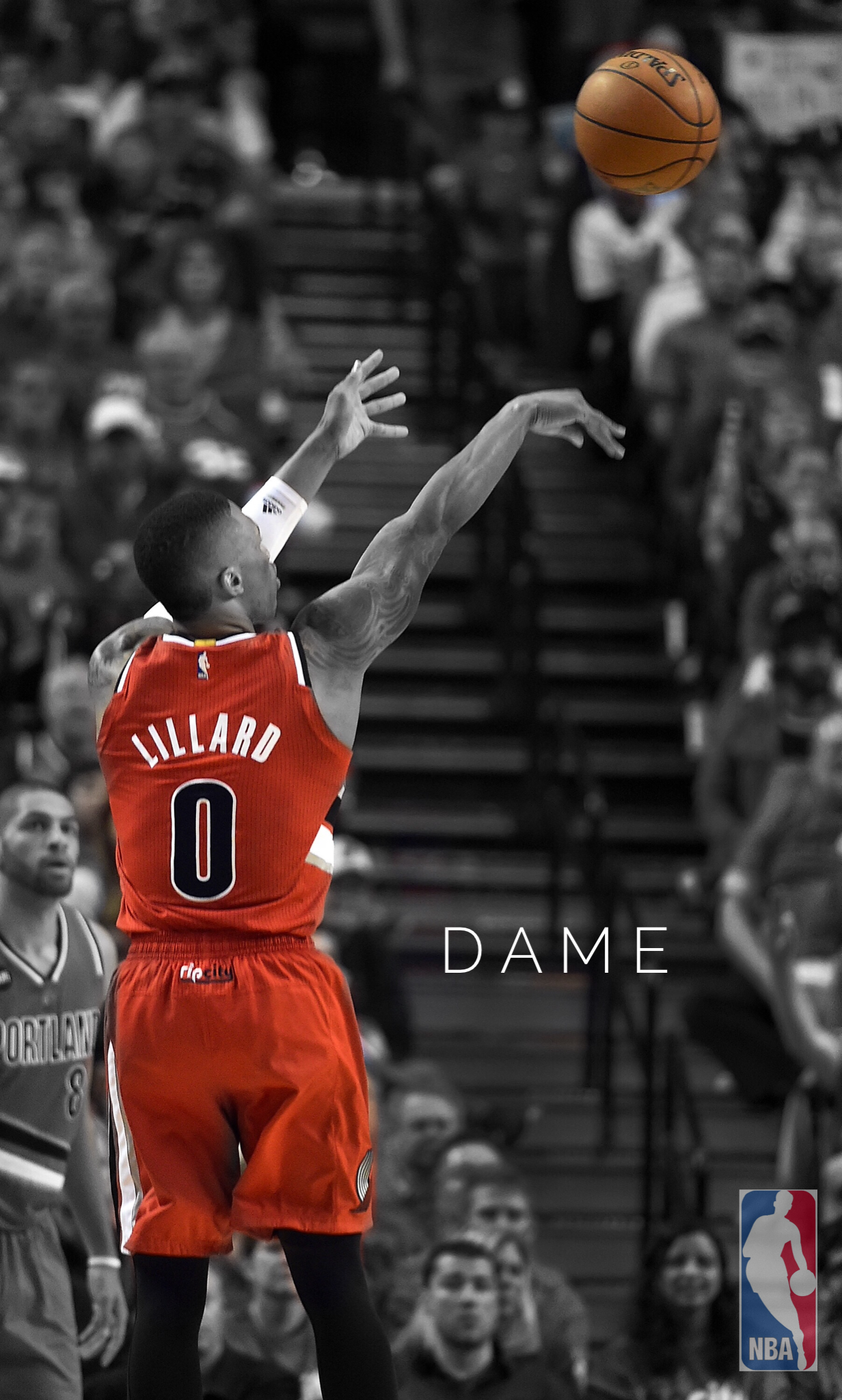 Portland Trail Blazer Damian Lillard. #RipCity Nba Wallpapers, Nike Headbands, Nba Basketball