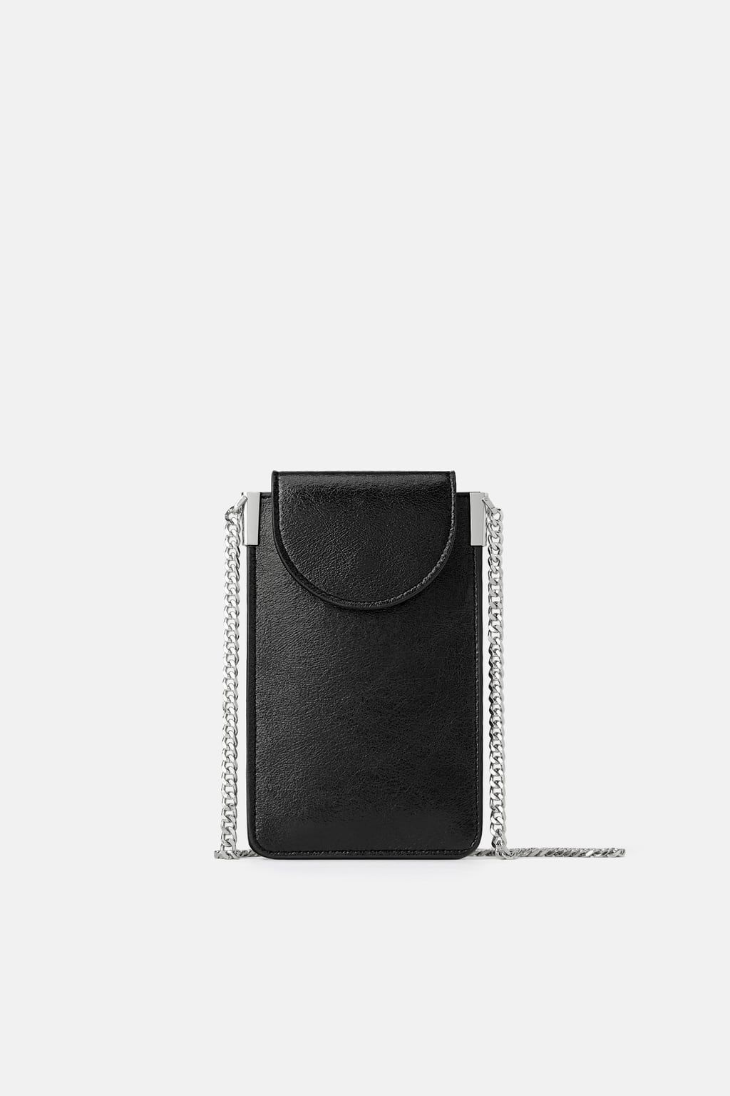 0c990b06eb Cell phone bag with chain detail in 2019 | I <3 ZARA | Phone, Phone ...